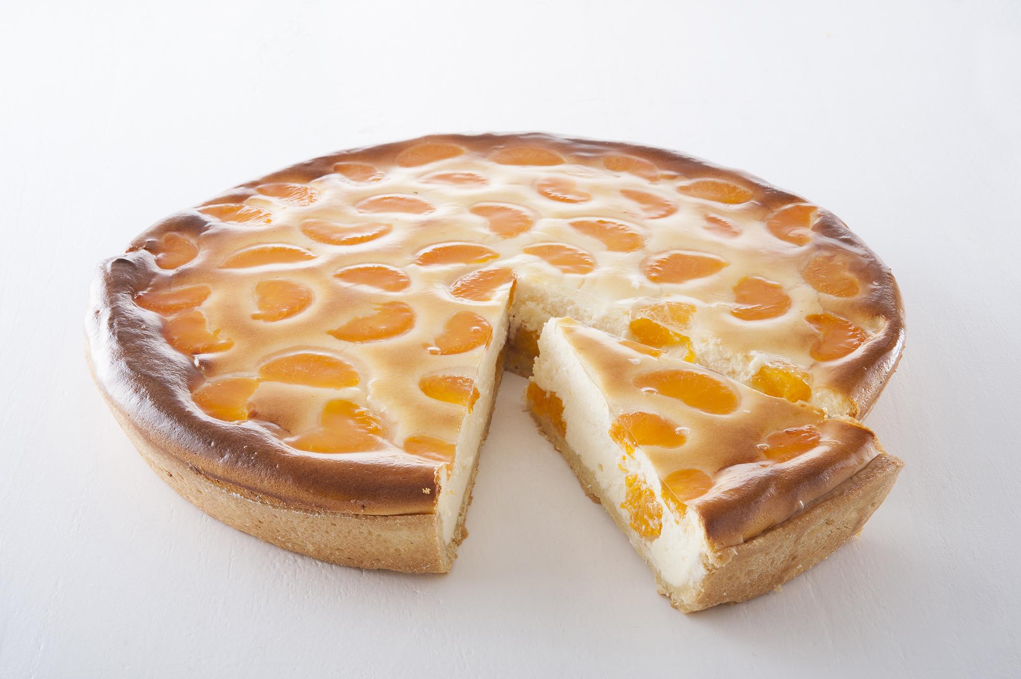Käsekuchen-Mandarine