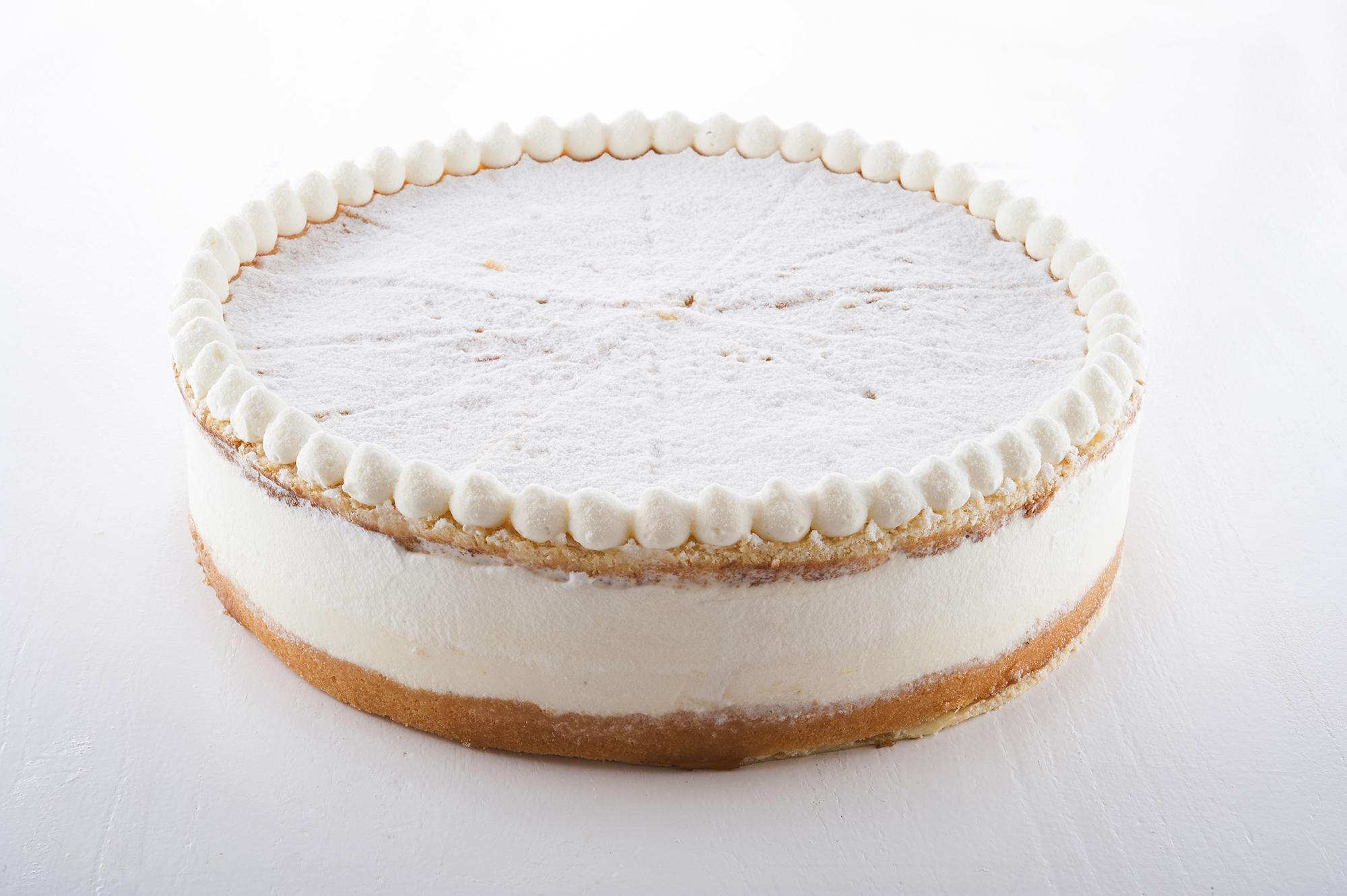 Quark-Sahne-Torte