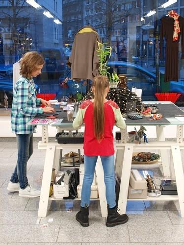 Teenagergeburtstag Schmuck-Kurs + Modelshooting  Düsseldorf