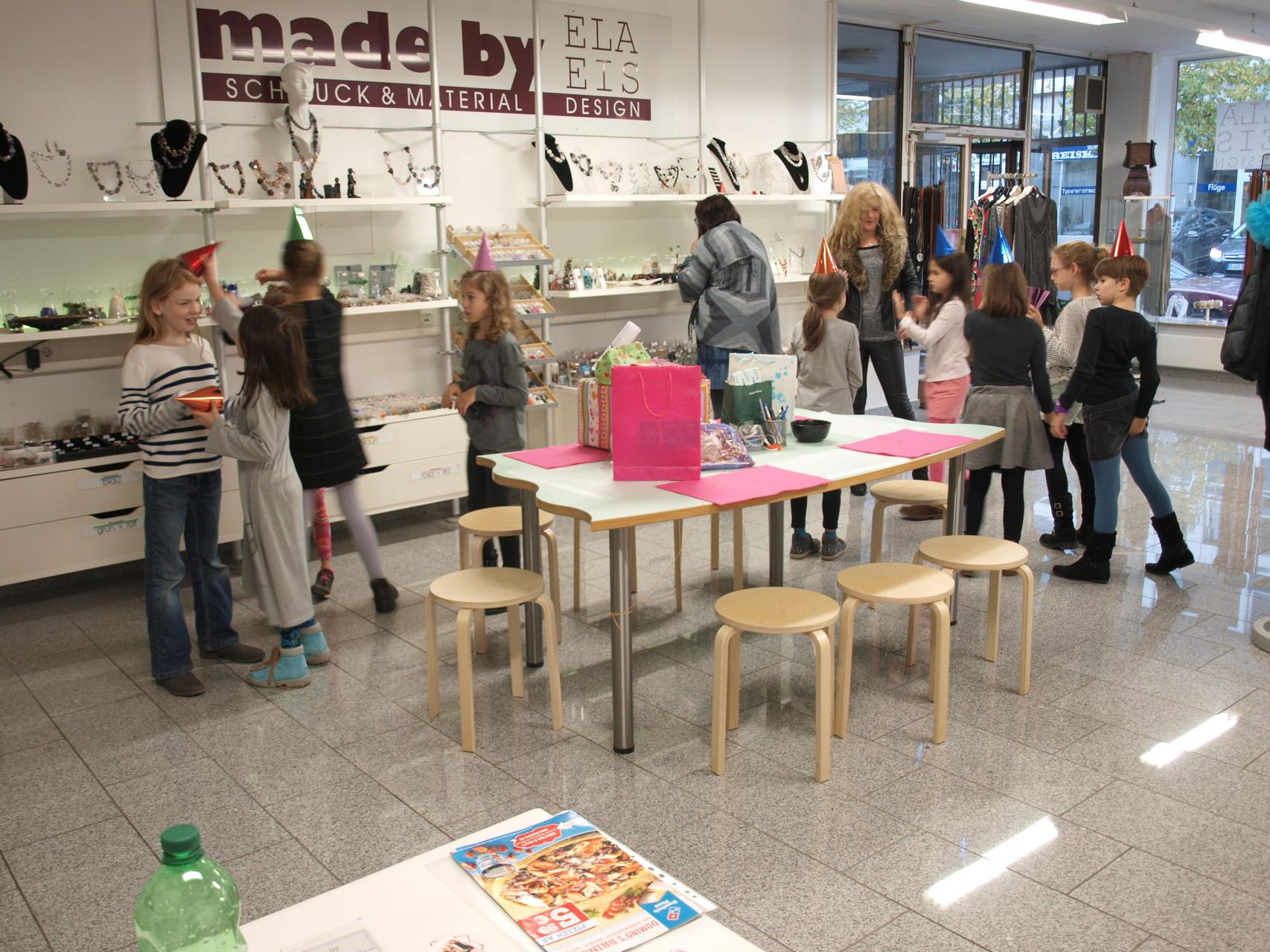 Kindergeburtstag / Fotoshooting bei ELA EIS in Düsseldorf