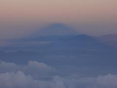 富士山の影富士