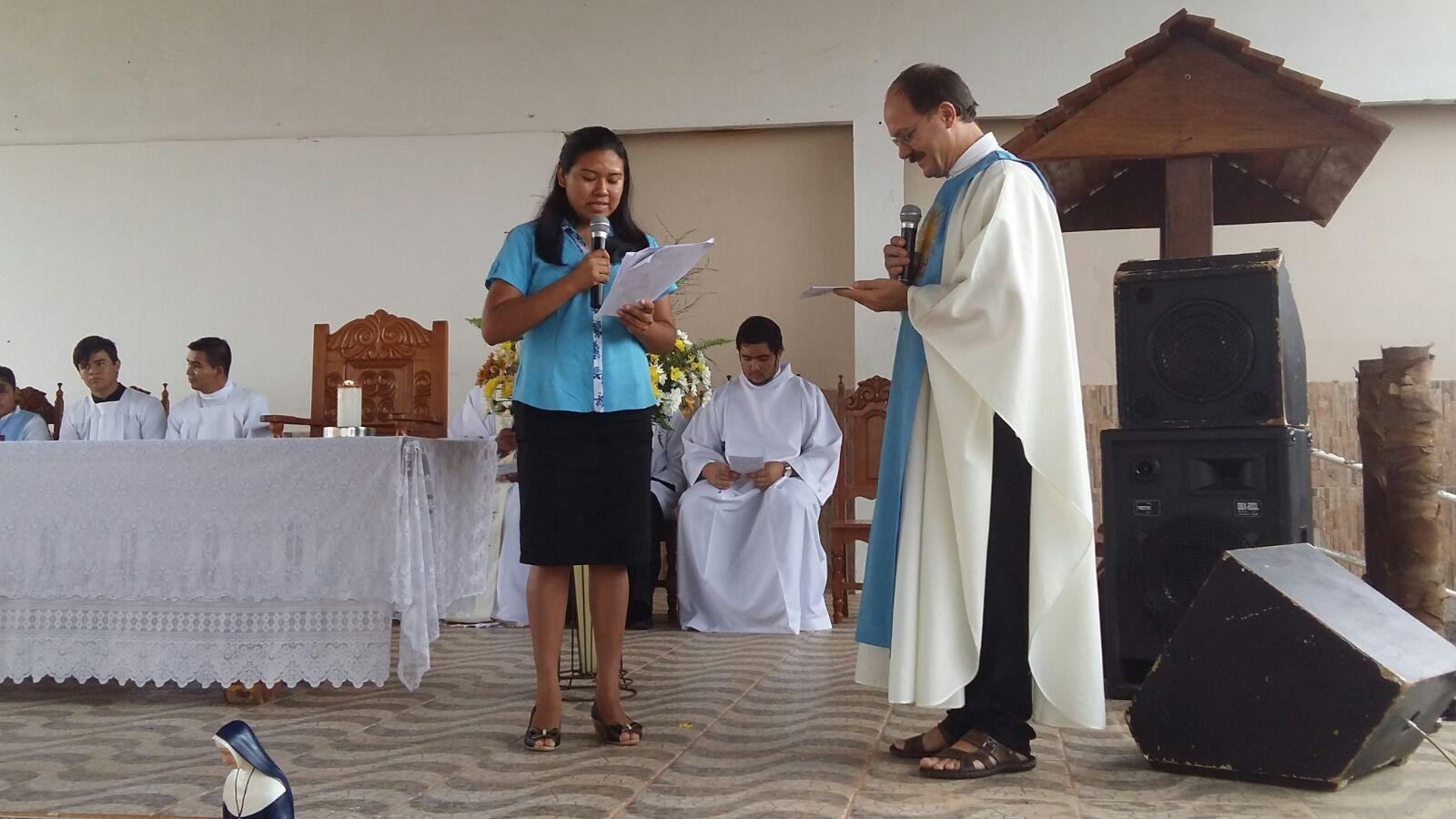Profissão Religiosa de Sonia Alzira em Cáceres