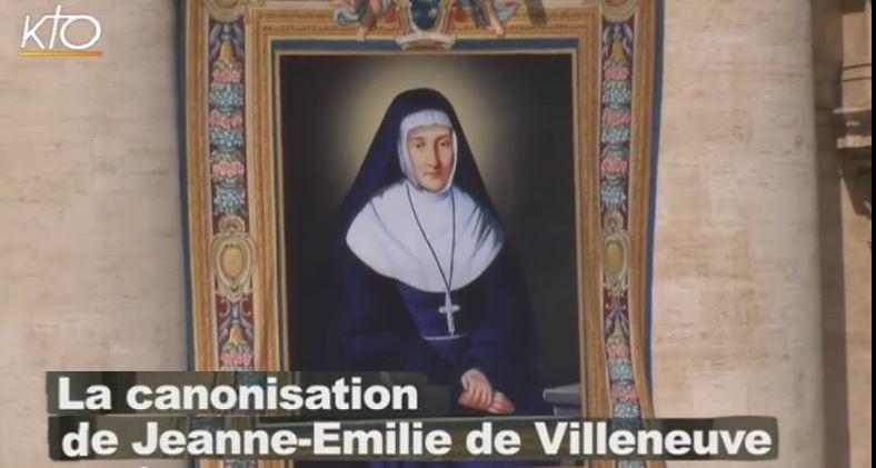 KTO fala sobre a canonização de Jeanne Emilie