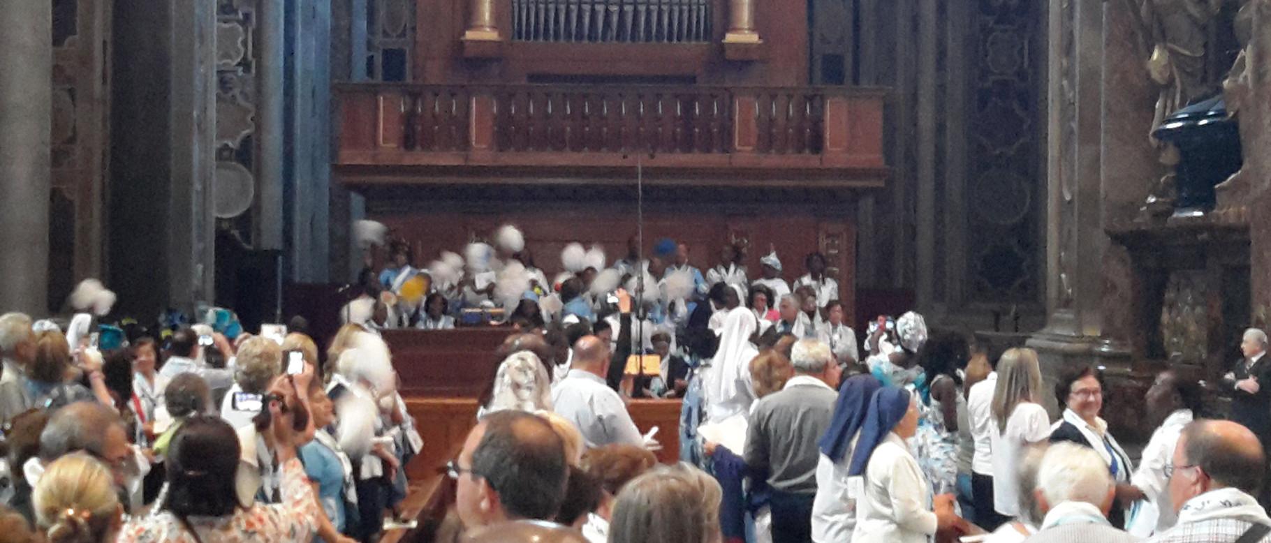 Vaticano: Ação de graças - Vidéo