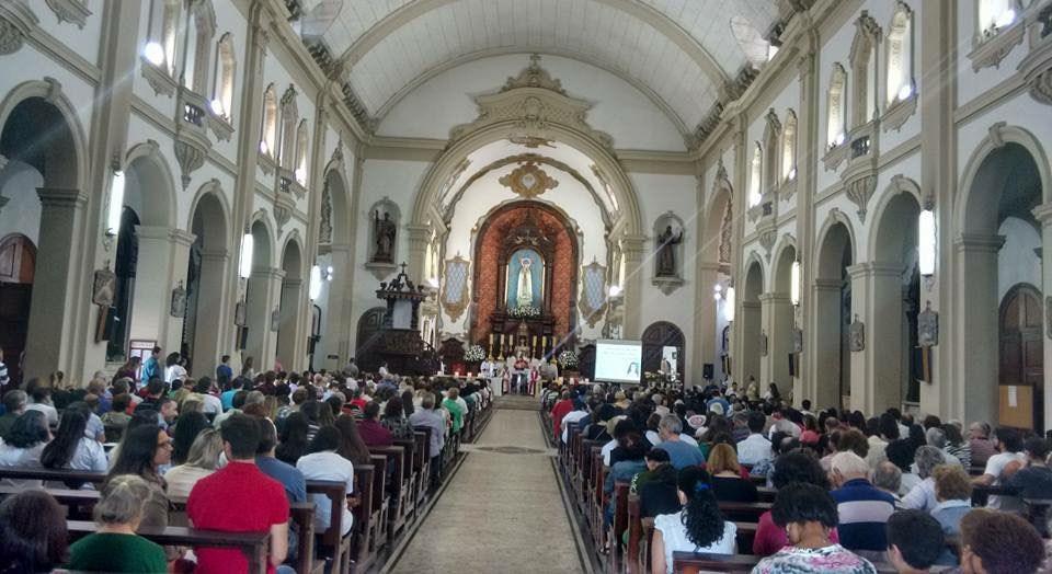 Celebração na Igreja N. S. de Fátima Sumaré - SP