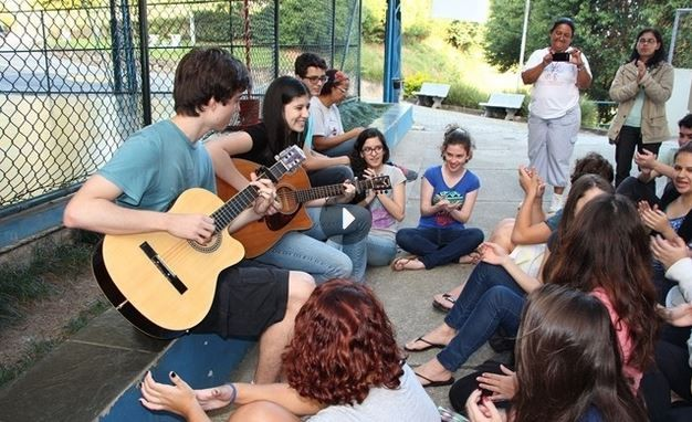 Acampamento de Jovens da Rede Azul