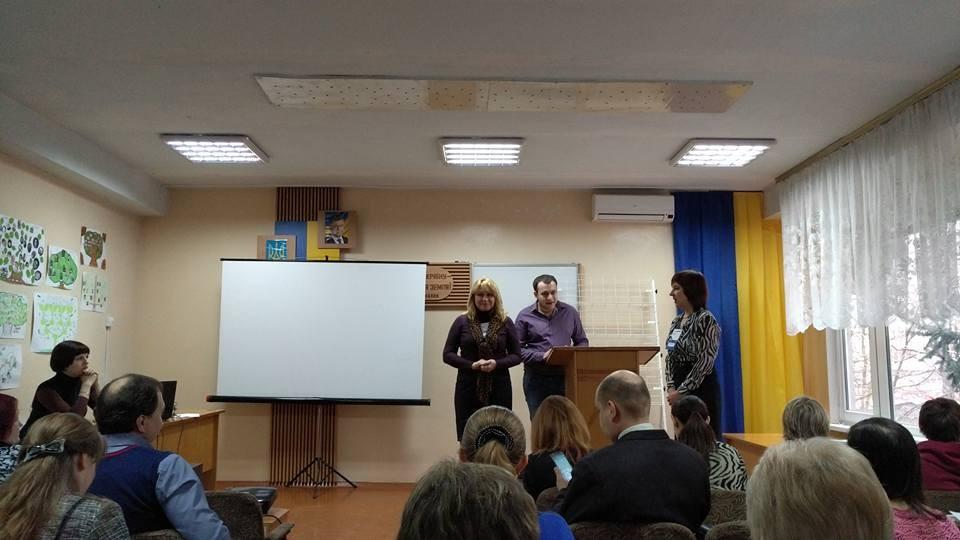 Олександр Елькін і Марина Пащенко, натхненник та експертка в побудові спільноти EdCamp в Україні.