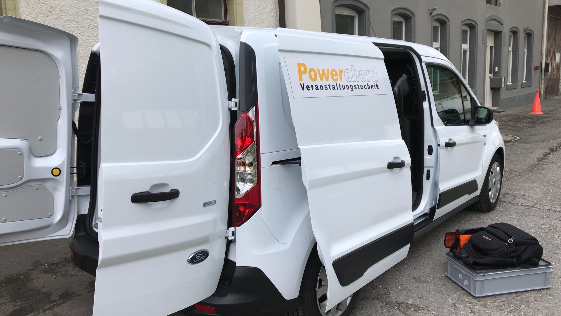 Mein Privatauto und Ton(technik)-Mobil