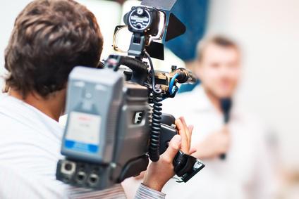 Symbolbild TV-Kameramann