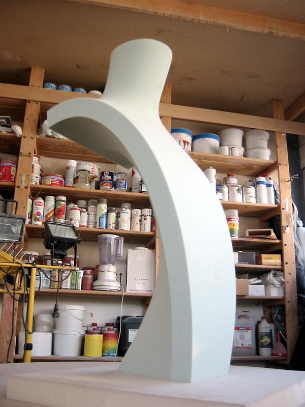 buste Chaumet / prototypage et réalisation atelier Replicart