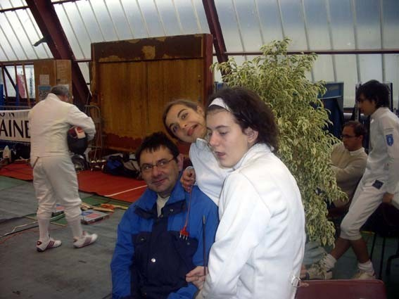 Christian, Marion et Déborah