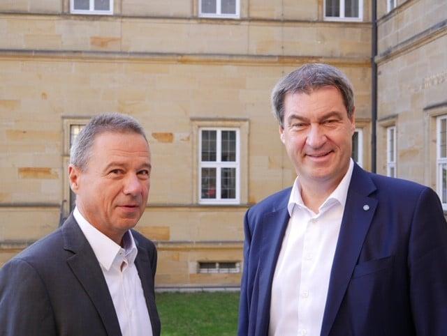 Im Gespräch mit unserem Ministerpräsidenten Dr. Markus Söder