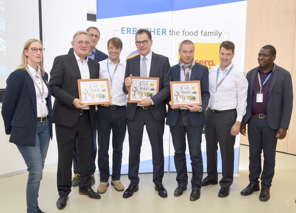 Firmenbesichtigung mit Bundesminister für wirtschaftliche Zusammenarbeit und Entwicklung Gerd Müller