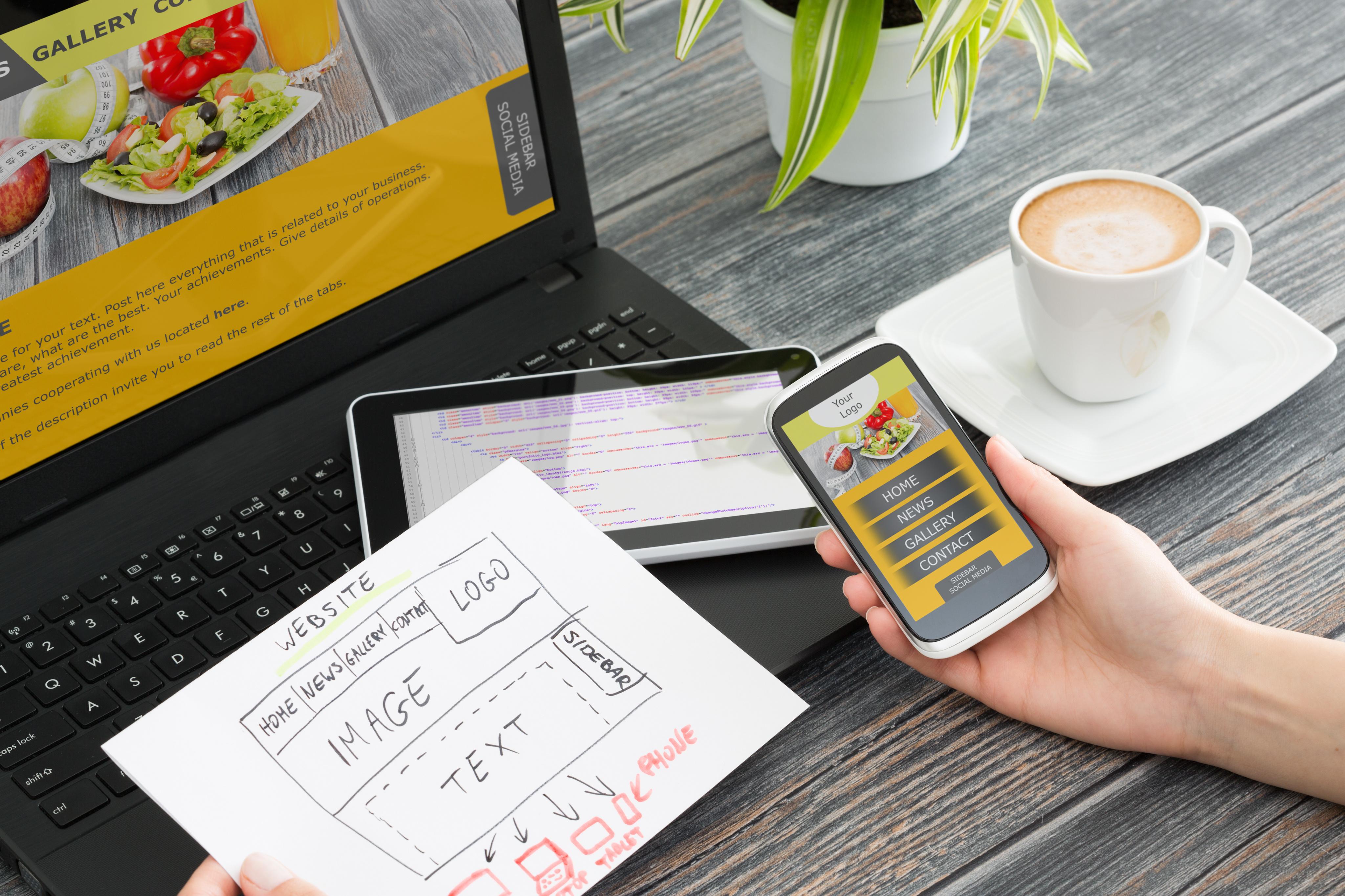 Web-Design & -Gestaltung: Web-Design nach Maß - für Ihren optimalen Web-Auftritt