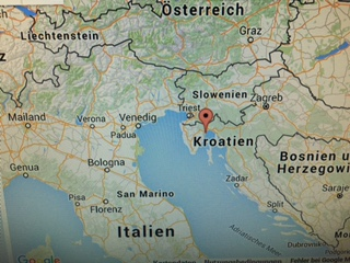 Ferienwohnungen in Kroatien Anfahrt