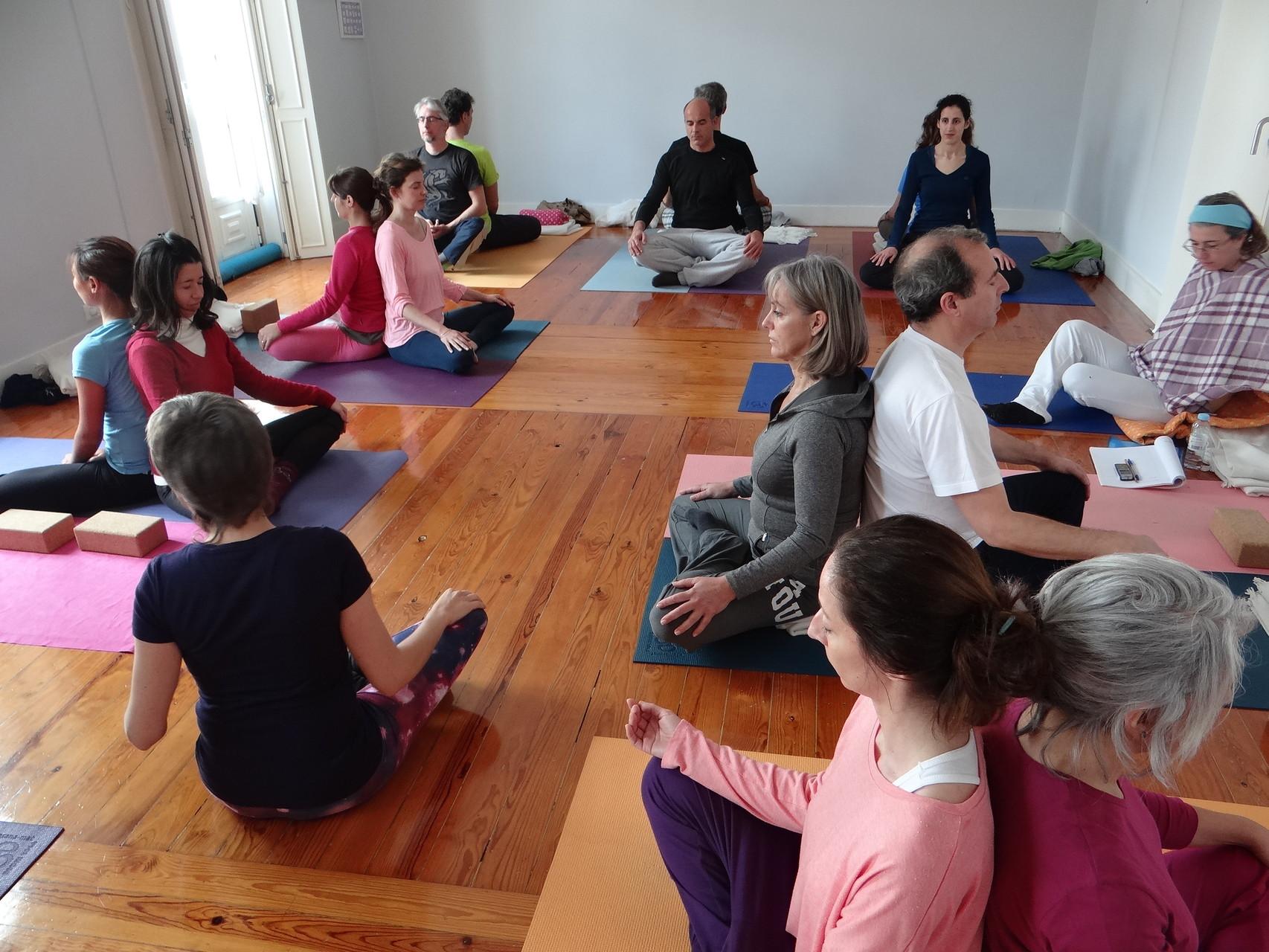 Workshop de Yoga a Pares com Lina Afonso & Sílvia Morais, 21fev2015