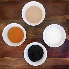 Clasificación de los tés negros.
