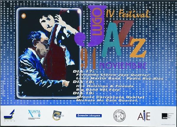 Festival de Jazz de Lugo 1994 - Larry Martin Band+Pedro Ruy-Blas