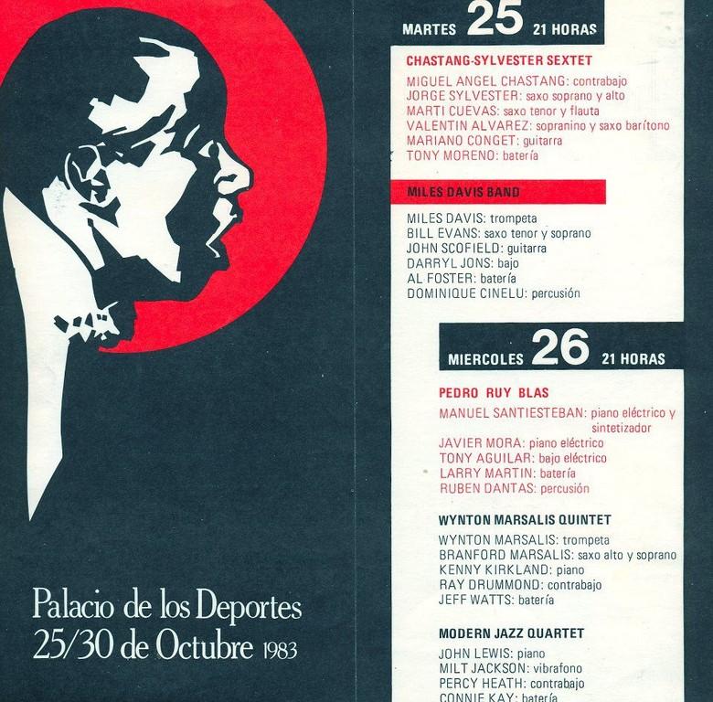 Festival Jazz Madrid 25-30 de nov 1983