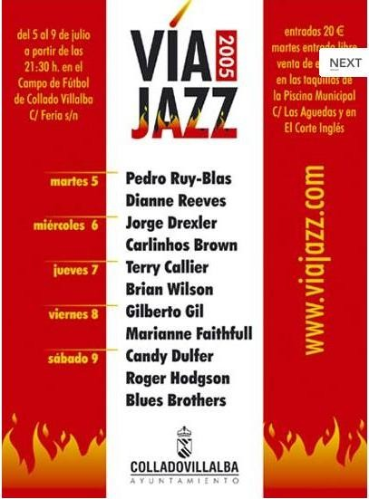 III Festival Internacional de Villalba- 5/7/2005
