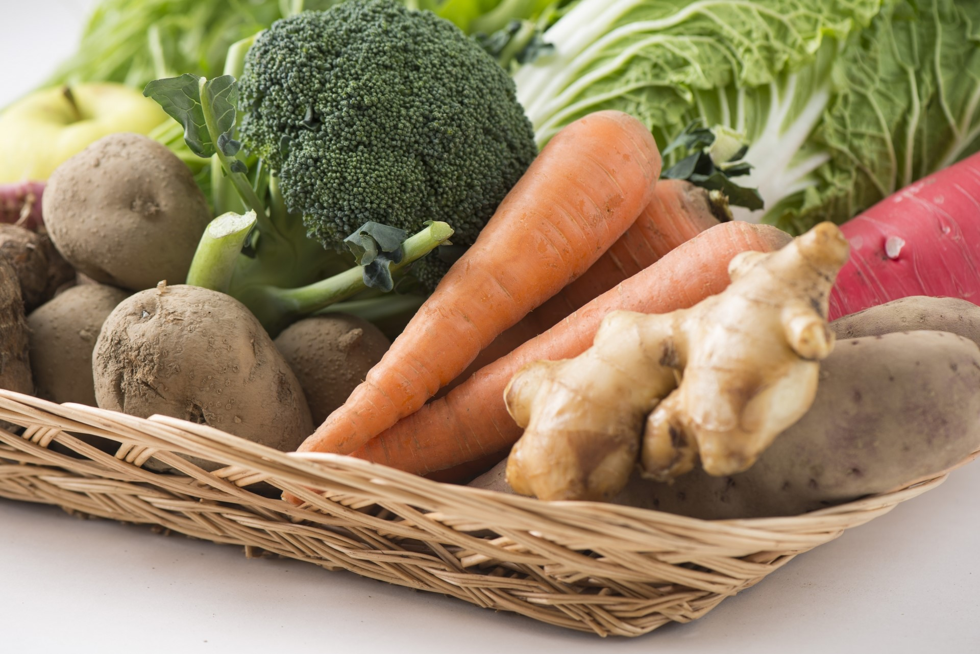 旬の野菜で健康に