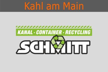 Kanalreinigung – Kanalreparatur – Container