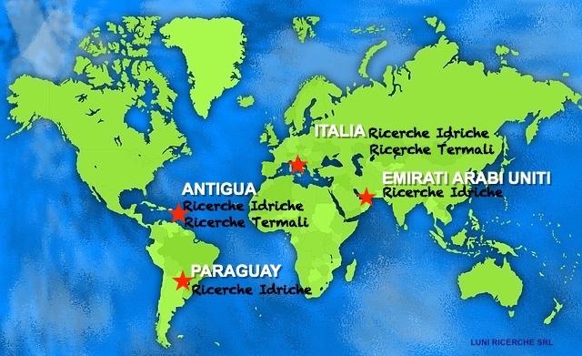 Rabdomanzia Professionale - Ricerche idriche termali in tutto il mondo