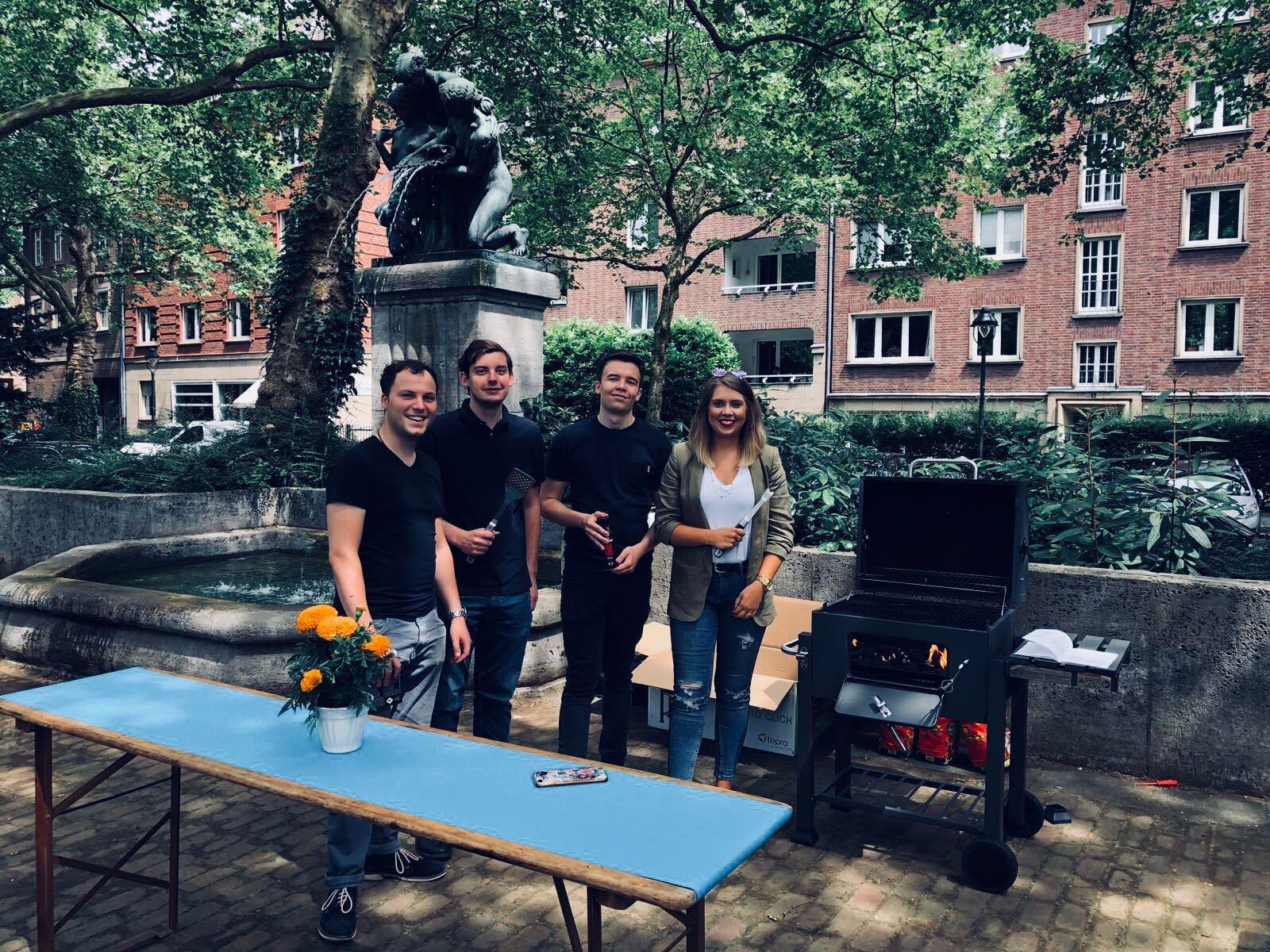 Juli 2018 - Sommerfest mit der CDU Golzheim