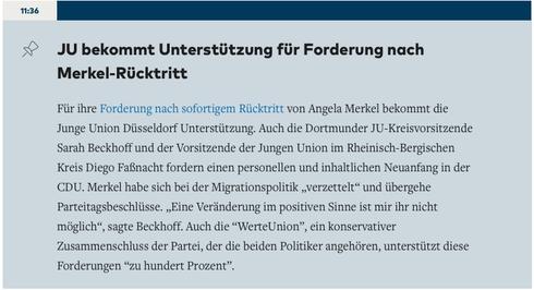 Quelle: Welt.de, abgerufen am 23. November 2017  unter https://www.welt.de/politik/deutschland/live170690932/Eine-Veraenderung-mit-Merkel-ist-nicht-moeglich.html?wtrid=socialmedia.email.sharebutton