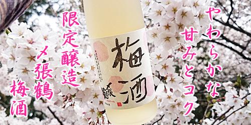 やわらかな甘みとコク 限定醸造 〆張鶴 梅酒