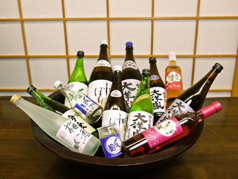 稀少村上地酒お土産