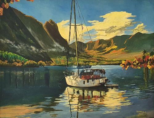 N°17 Le bateau de Tom HST 80x102