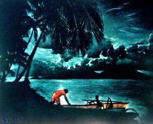 Clair de lune 48x64  Lithographie VSO