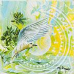 N°5 L'île aux oiseaux 20x20