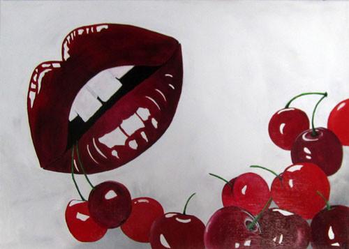 Carole Cherry 50x70 AST