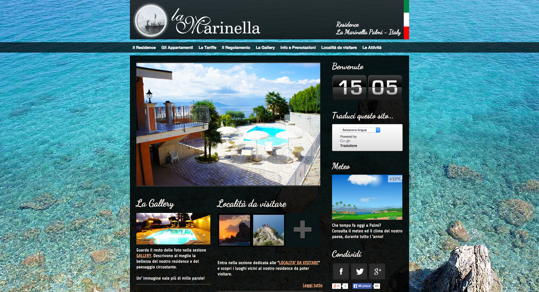 www.residencelamarinella.it