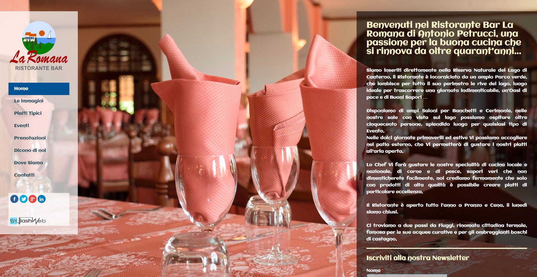http://www.ristorantelaromana.it/