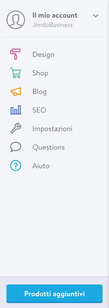 """La nuova voce """"Questions"""" della tua toolbar"""