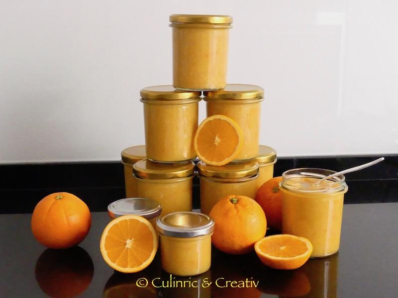 Orangen-Marmelade ohne Geliermittel