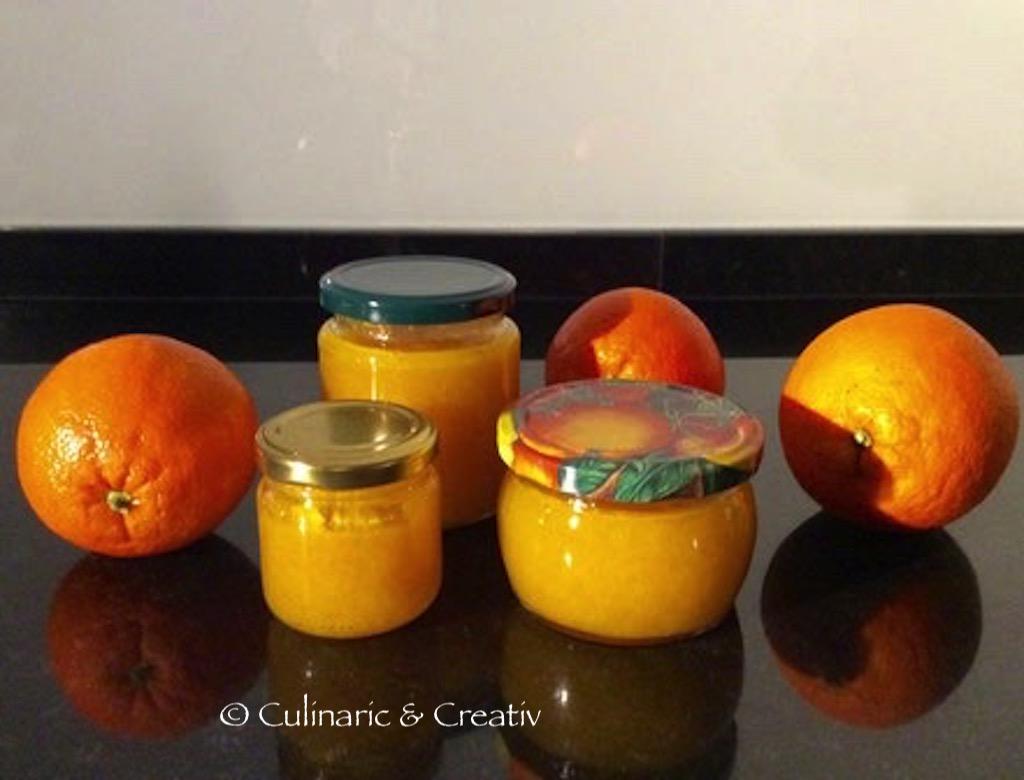 Orangen Konfitüre