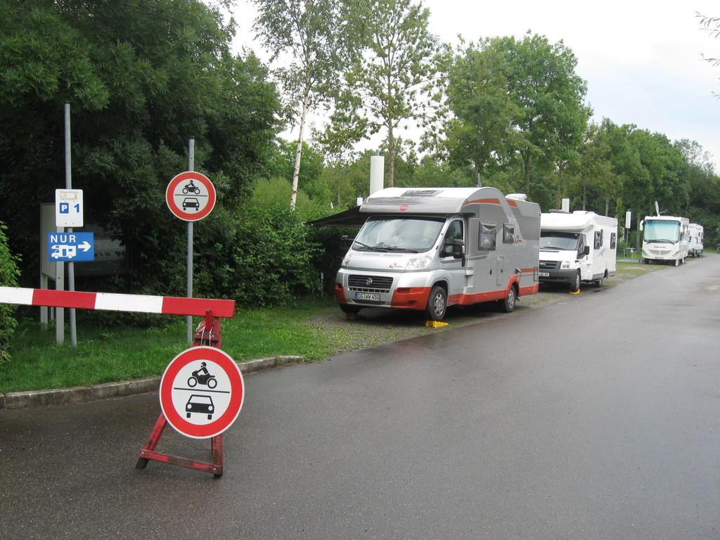 Aire de services parking P1
