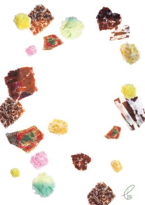 チョコレート中毒/マスキングテープ 2012,8.21