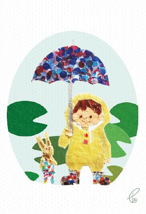 あめのひのおでかけ/マスキングテープ IllustratorCS6 2012,11.11
