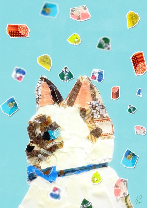 宝石にみるその瞳/マスキングテープ PhotoshopCS6 2016,2.22