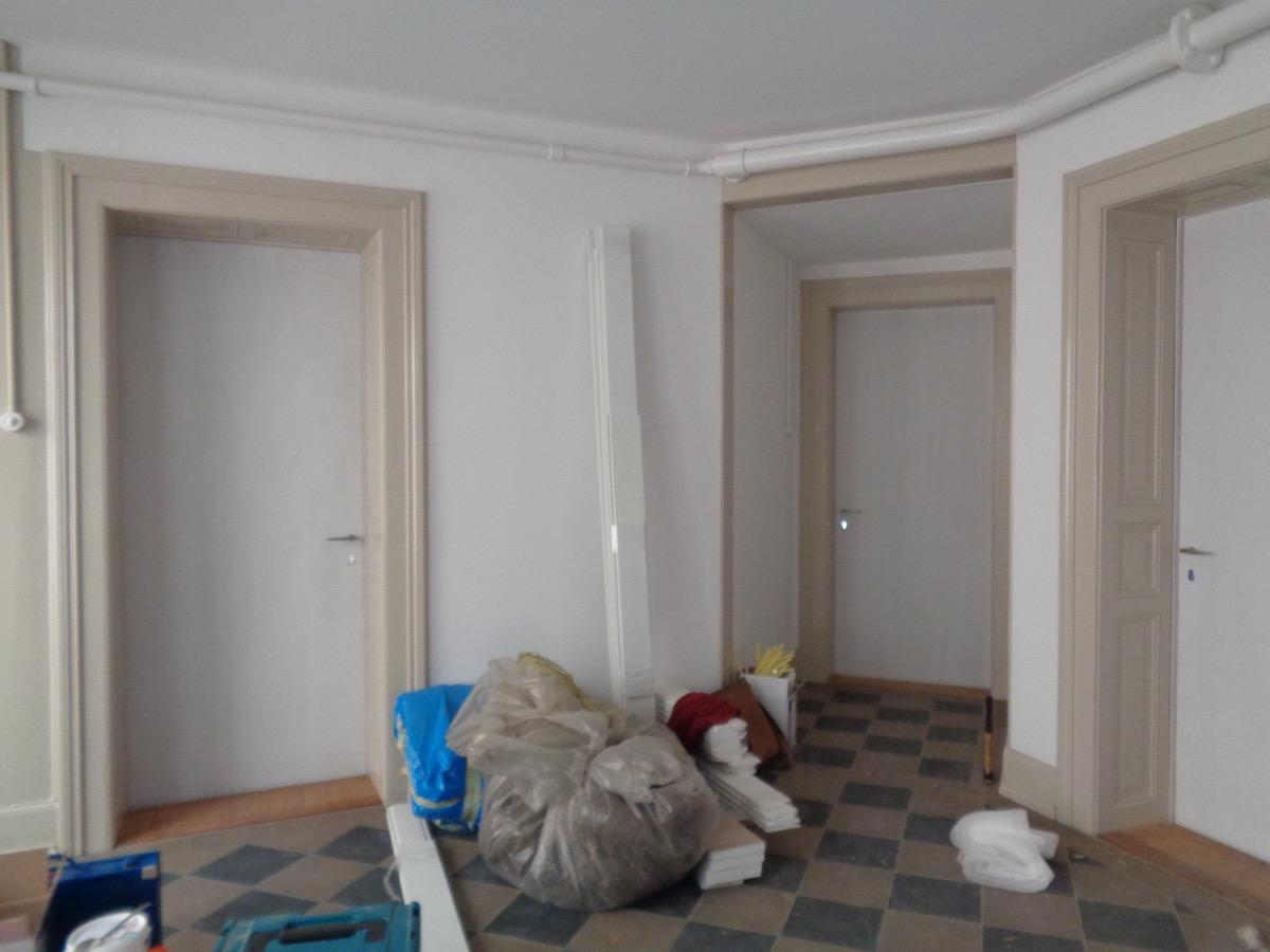 Die Türen passen. jetzt noch ohne Doppel