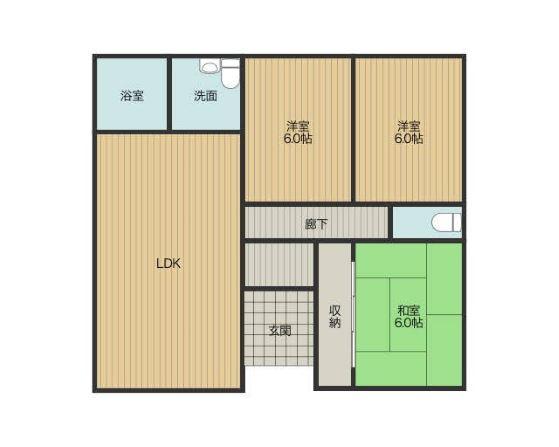 20坪の住宅の図面