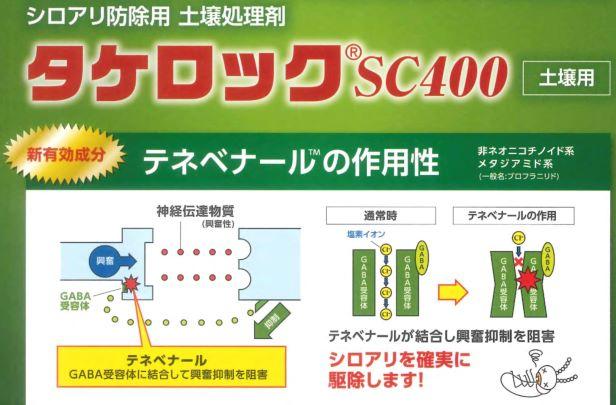 タケロックSC400の説明