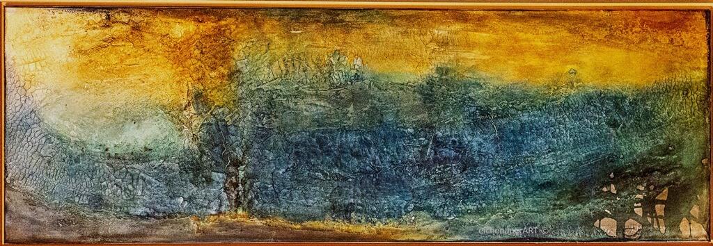 Zyklus geschichtete Transparenzen II | 150 x 50 cm