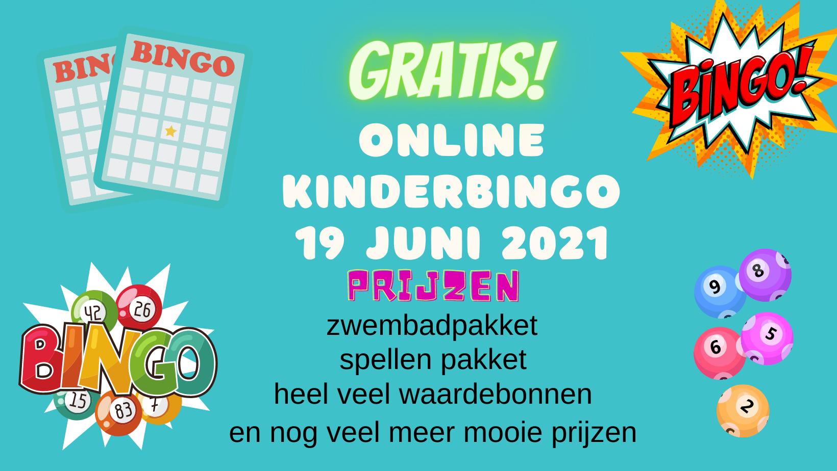 Online kinderbingo bij Tante Vroesh