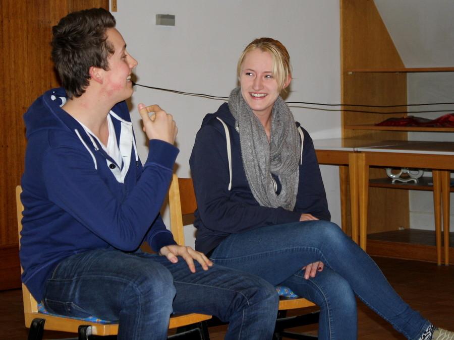 Szenenimprovisation 4, beim Casting, (Bild: Laura Berndt)
